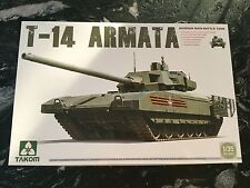 TAKOM 1/35 RUSSIAN T-14 ARMATA MAIN BATTLE TANK PLASTIC MODEL  # 2029 F/S NEW !