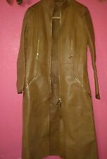 GUCCI Tom Ford Rare Tan Leather Coat, SZ 38 IT