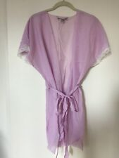 New Victoria's Secret Silk Light Purple Robe Size S/M