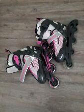 Schwinn Roller Blades Gray / Pink Size Youth Size 1-4, Excellent Condition.