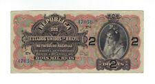 2 Mil Reis Brasilien 1918 R 084 / P.13 - Estados Unidos do Brazil