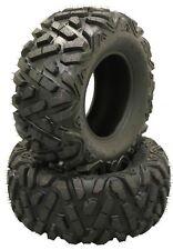 2 New 25x11-10 25X11X10 ATV UTV Tires 6PR Big Horn Style 10249