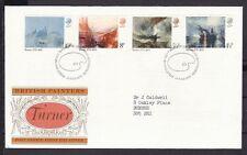 Briefmarken aus Europa mit Ersttagsbrief für Kunst