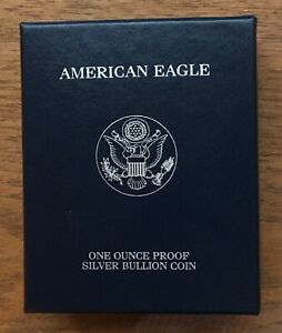 U006 USA UNITED STATES 2006 $1 1OZ SILVER PROOF EAGLE COIN WITH BOX & COA