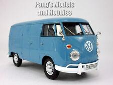 Volkswagen  VW T1 (Type 2) Delivery Bus Van 1/24 Scale Diecast Model - BLUE