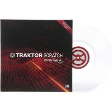 Traktor Scratch Control Vinyl mk2 Clear Vinyl timecode DJ NEW