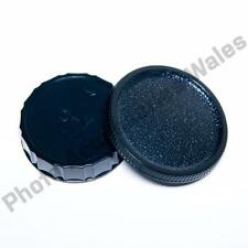 CONTAX YASHICA BODY AND REAR LENS CAP RTS 137 139 FX SERIES SLR