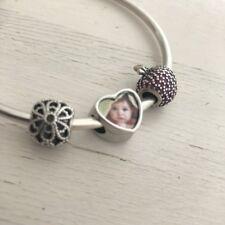 Love Heart Photo Bracelet Charm / Bead - Personalised Pandora Charms Xmas Gift