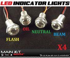 Honda cb750 gl1000 cb360 cb400 xs650 cafe racer indicator dummy idiot LED lights