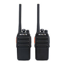 2pcs Retevis RT24 Walkie Talkie PMR446 Two Way Radio 3.7V DC Scan VOX CTCSS/DCS