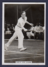 Ardath Photocards BARON VON CRAMM, Tennis