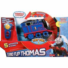 (NEW SEALED) FISHER - PRICE THOMAS AND FRIENDS TURBO FLIP TRAIN TOY SET TOYS