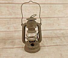 WW2 Old  Vintage Feuerhand No. 75 Kerosene Baby Oil Lamp /Lantern, Germany