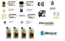 Kit Filtri Tagliando WIX Opel Meriva B 1.3 CDTI 55-70 Kw + 4 LT Olio Opel 5w30