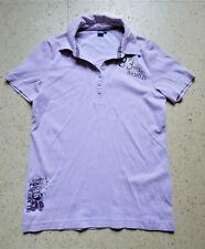 schöne CECIL Polo Shirt Gr. L / 42-44 lila
