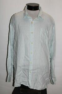 TOMMY BAHAMA Mens 2XL XXL 100%Linen Button-up shirt Combine ship Discount