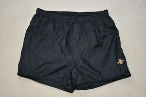 "Gucci Black GG Print Gold Bee Detail Swimming Shorts Trunks Mens XS 28W 28"" 46"