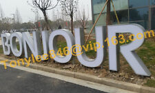 Channel Letter Signs with backlit, made by stainless steel,Direct Sign Wholesale