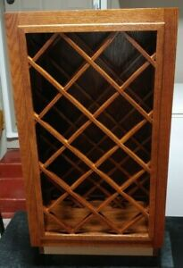 Medallion Silverline Full Height 18-in Wide Base Cabinet Wine Rack