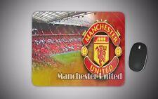 Manchester united mouse mat gaming laser non slip fabric pc man utd football