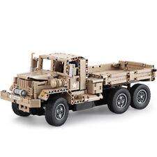 Double Eagle CaDA C51042W 38cm 2.4G 545pcs Building Block Rc Car Military Truck