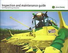 Farm Brochure John Deere SP Forage Harvester Inspection Maintenance c2011(F5475)