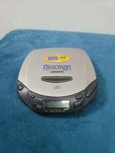 Sony Discman Personal CD Compact Disc Player Groove D-181 TESTED & WORKING