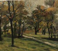 Circa 1920S American School BeautifulI impressionist Landscape Estate Fresh