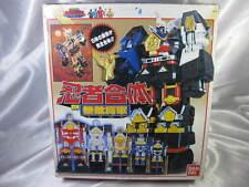 Power Rangers Ninja Sentai Kakuranger DX Chogokin Muteki Shogun Bandai Japan