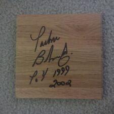 Parker Bohn III Pba Pro Bowling signed 6 x 6 Wood floor tile autograph