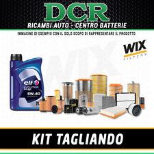KIT TAGLIANDO RENAULT CLIO IV 1.5DCI 75 55KW DAL 11/2012 + OLIO ELF 5W40