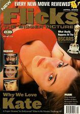 Flicks April 2000 Kate Winslet Clockwork Orange William H Macy etc Uk Post Free