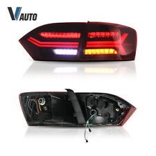 Set LED Rear Tail Light Brake Lamps For 2011-2014 Volkswagen VW JETTA MK6 Red