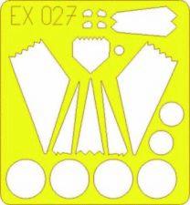 Eduard Accessories Ex027 - 1:48 F-117 Nighthawk - Maskierfolie - Neu