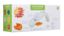 Kitchen Craft 6-in-1 Mandoline Slicer Set White and Green - New