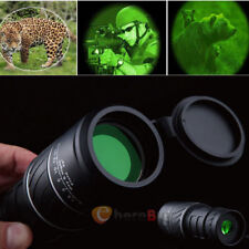 HD 40X60 Zoomable Monocular Binocular Telescope Day and Night Vision +Carry Bag