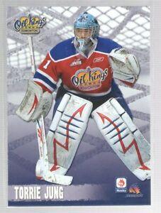 2009/10 Edmonton Oil Kings - TORRIE JUNG (g)
