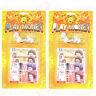 2x Childrens Kids Play Fake Pretend Money Role Shop Cash £ Pound Notes Coins Toy