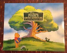 Disney's Winnie Pooh Bear Grand Adventure Exclusive Lithograph Set 4 Art Prints