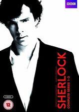 Sherlock Complete BBC Series 1 2 3 DVD Box Set New Holmes Benedict Cumberbatch