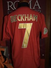 BECKHAM ENGLAND WC 2006 XXL MAGLIA SHIRT CALCIO FOOTBALL MAILLOT JERSEY SOCCER