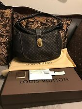 Authentic Louis Vuitton Romance Idylle Fusain Monogram - Mint Condition