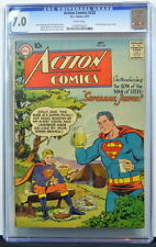 ACTION COMICS #232 CGC 7.0 Superman 1957 1st Curt Swan art in Action