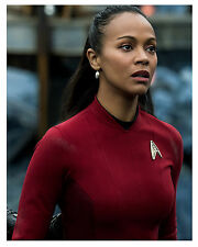 "-Star Trek-(Zoe Saldana) as ""Uhura"" Glossy 8x10 Photo"