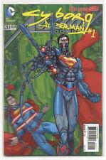 Superman Action Comics 23.1 Cyborg Superman #1 3D Cover DC Villains Month New 52