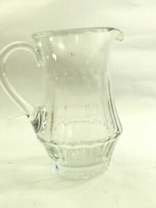 Fine Galway Irish Crystal Old Galway Crystal Pitcher 8""