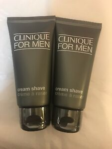 Clinique for Men Cream Shave 60ml X 2 New and Sealed