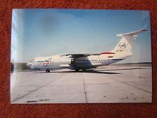 10/1996 SHARJAH PHOTO ILYUSHIN IL-76TD RA-76817 TRANSAERO SAMARA AIRLINES