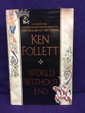 Pillars of the Earth-World Without End-Ken Follett Ω NEW PB HC 1st/1st FREE SHIP