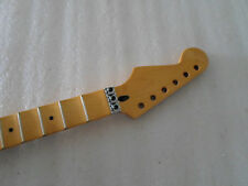 Reverse headstock Full scalloped Guitar Neck for ST style 22 Fret Canadian maple